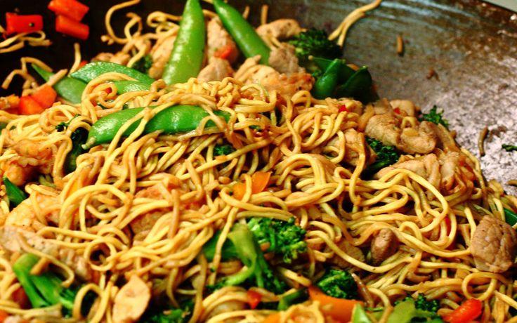 aziatische-chow-mein