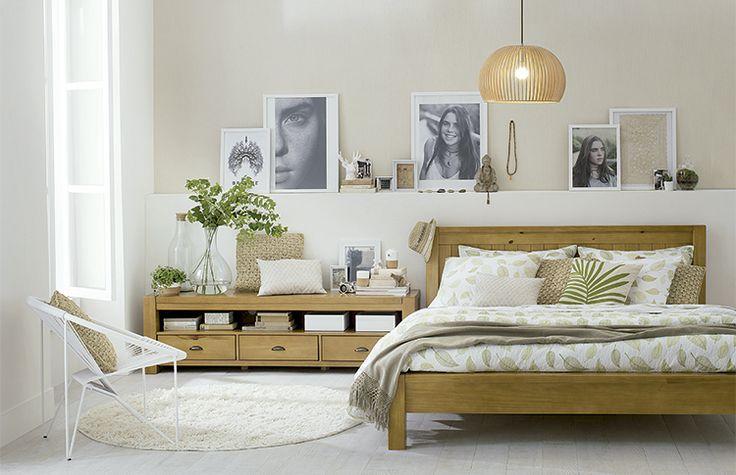 Tok&Stok Quarto Use matérias-primas sustentáveis para criar quartos confortáveis e ecologicamente corretos.