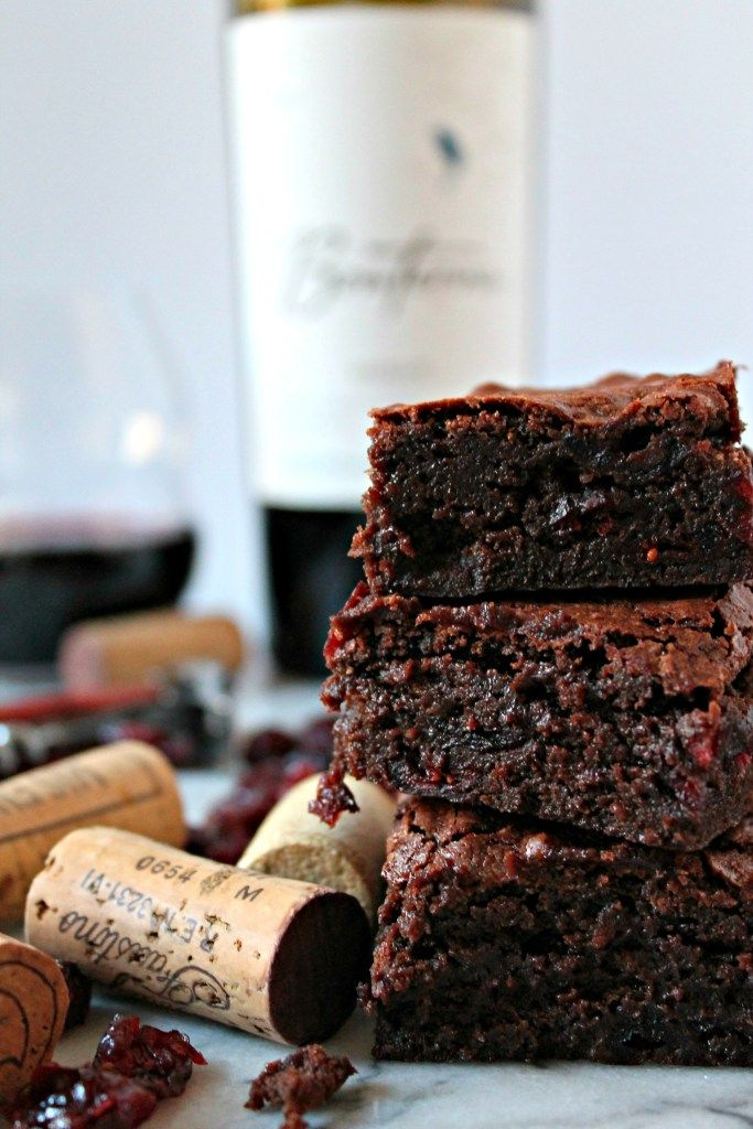 The Best Red Wine Brownie recipe