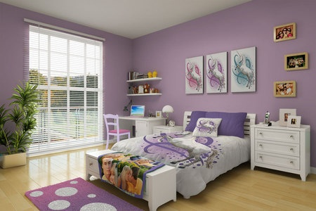I am a Unicorn LOVER!! If I was a little girl again, I would WANT this room SO BAD!!
