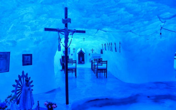 Inside Antarctica's Catholic Ice Chapel, the World's Southernmost Church