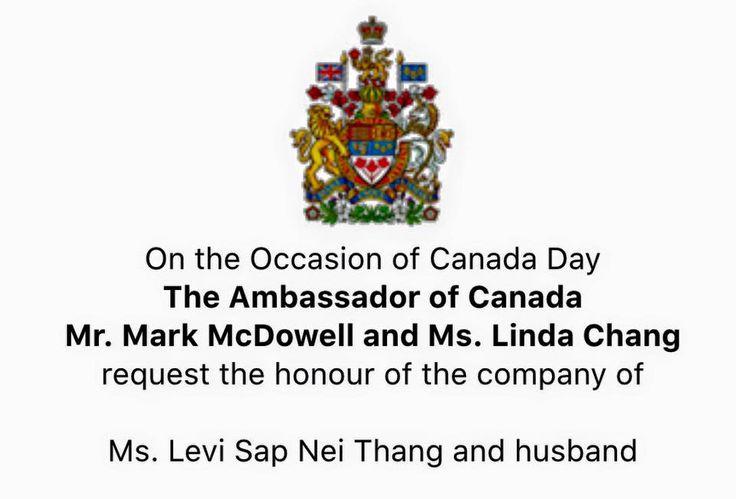 Canada Day 2016 in Myanmar #Burmese, #Canada #Myanmar