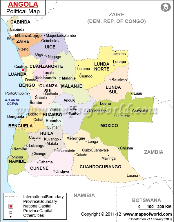 Best Angola Images On Pinterest Angola Africa Cities And - Angola provinces map
