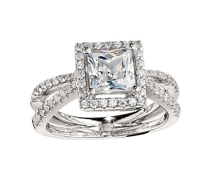 107 best images about princess cut engagement