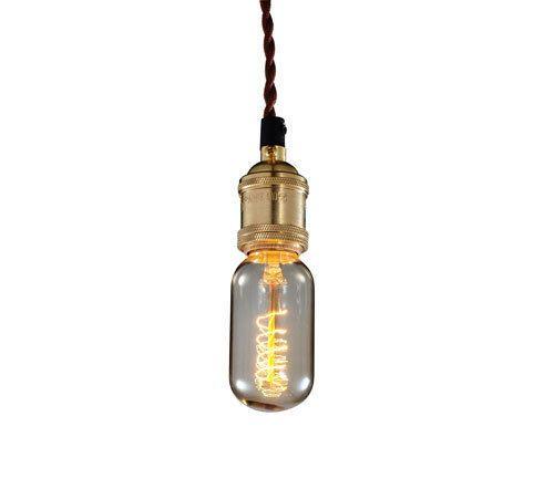 Industrial Edison Bulb Pendant C