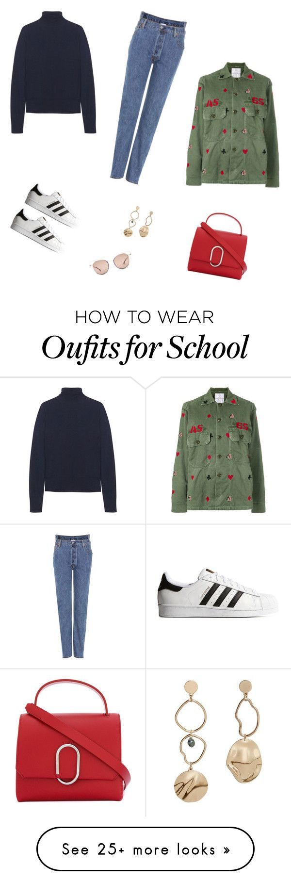 """School/shopping"" by joeybooey on Polyvore featuring adidas Originals, Bottega Veneta, Vetements, AS65, Fendi, MANGO and 3.1 Phillip Lim"