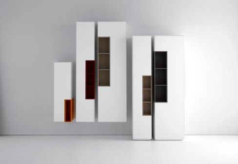 MDF Italia: INMOTION column storage unit