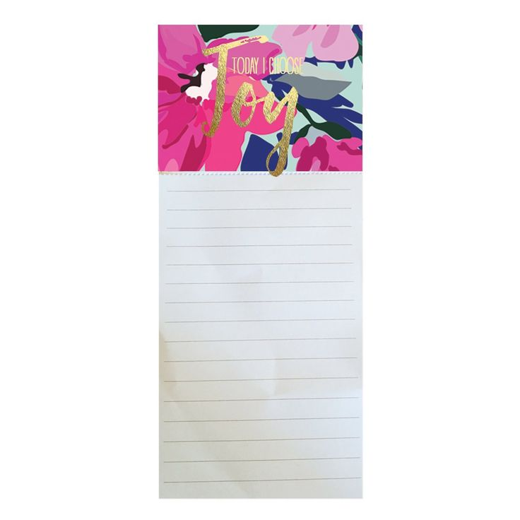 Magnetic Notepad Choose Joy SHIPS 2/1