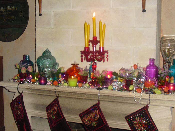 kleurige kerstinspiratie