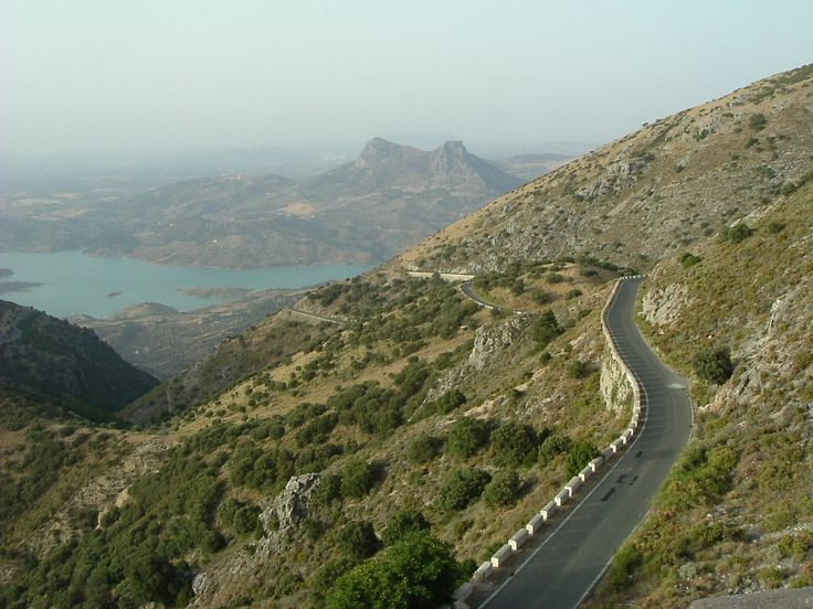 An impressive mountain pass, Andalucia Cycling