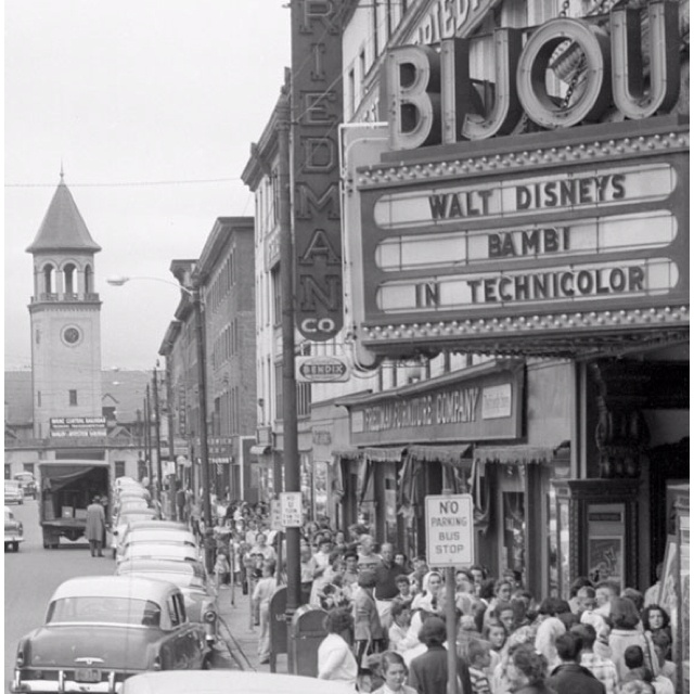 Whatever Happened To The Bijou Theater In Bangor,Maine