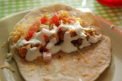 The Matthews' Menu: Del Taco's Secret Sauce Chicken Soft Tacos