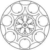 Mandala de Chakra Ajna Dibujo para colorear. Categorías: Tibetan mandalas. Páginas para imprimir y colorear gratis de una gran variedad de temas, que puedes imprimir y colorear.