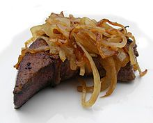 Liver (food) - Wikipedia, the free encyclopedia // tried it again today - no, I don't like it...