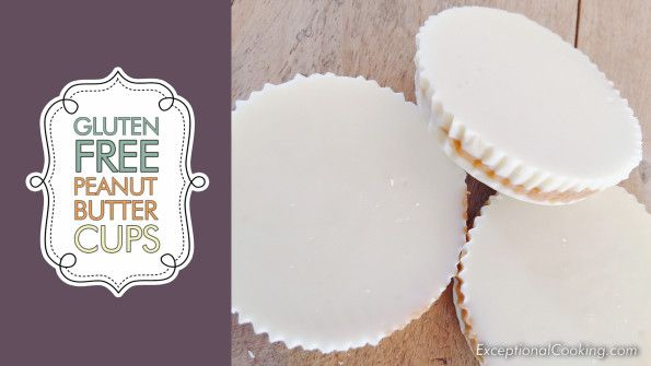 Gluten Free Peanut Butter Cups with White Chocolate