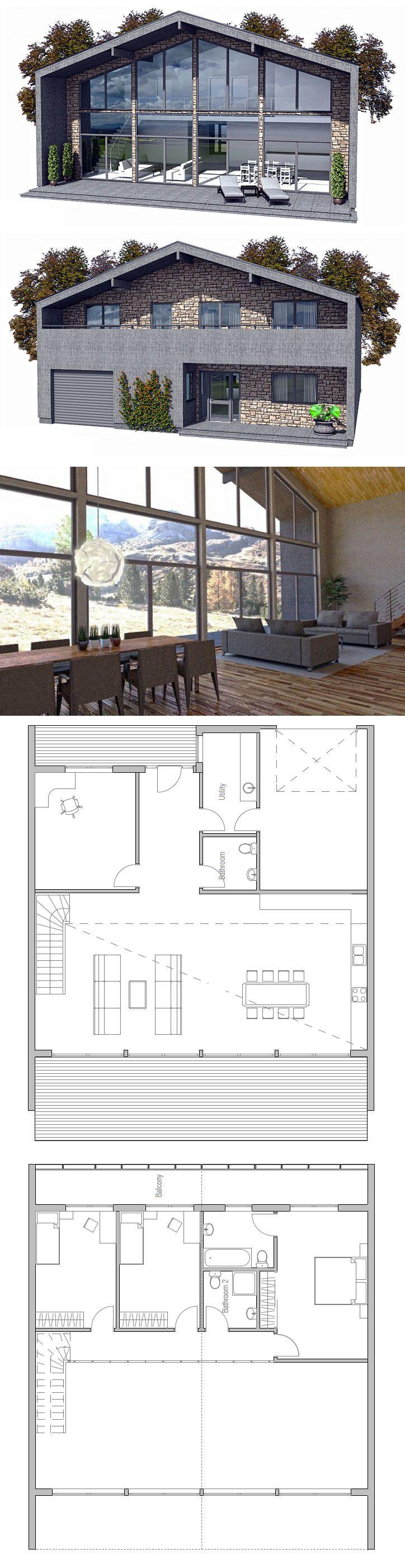 Home Plan Modular Home Plan Prefab house