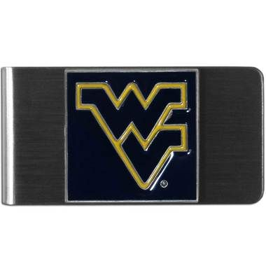 W. Virginia Mountaineers Steel Money Clip (Free Shipping)