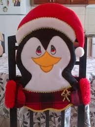 Resultado de imagen para moldes de adornos navideños para sillas