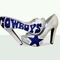 Dallas cowboys heels