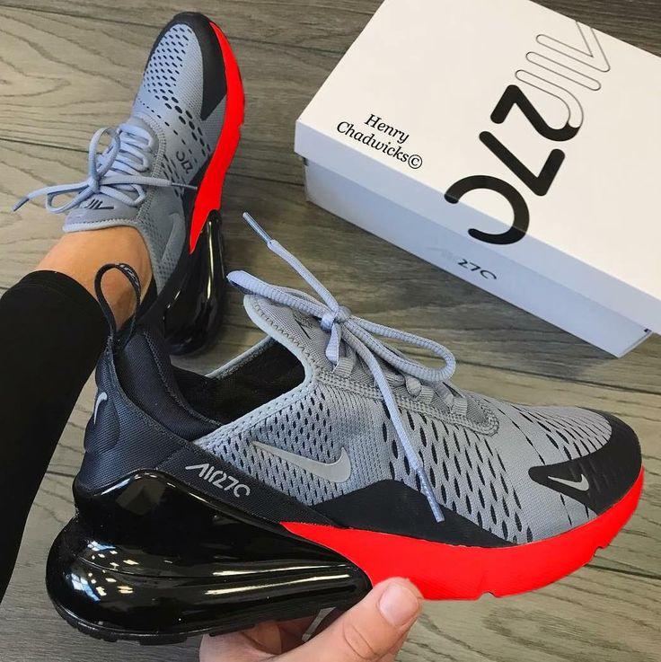 #AirMax270 #Nike #Black #Grey #Fresh #Women