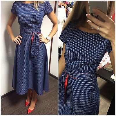 Women Sexy Short Sleeve Bodycon Bandage Dress Evening Club Party Dress Size S-XL