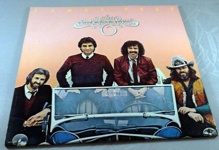The Oak Ridge Boys Fancy Free Vinyl LP 1981 MCA Records Country VG+