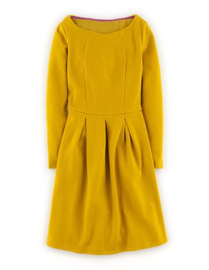 Dresses mustard yellow dresses and boden dresses on pinterest for Boden yellow