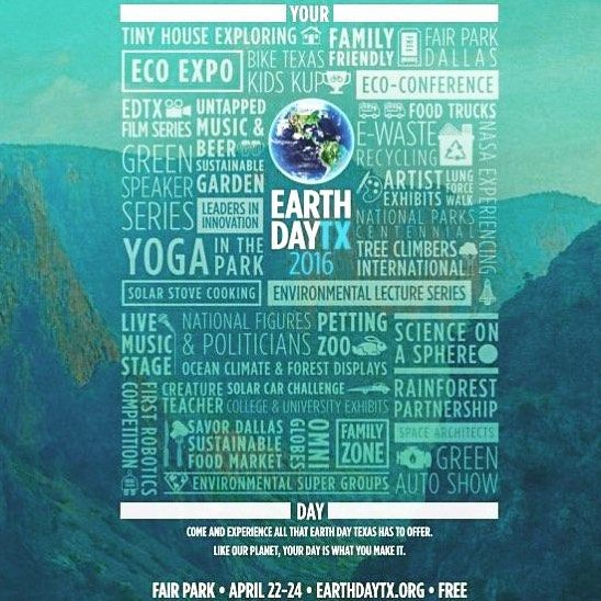 Make plans to attend #earthdaytx this weekend at #fairpark! So much to do! #dallas #events #earthday #texas #event #celebrate #fairparkdallas #edtx #tinyhouse by katytrailweekly