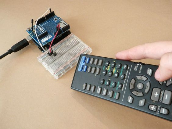 Clone a Remote With Arduino | Arduino | Arduino projects