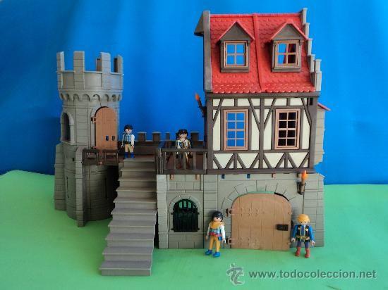 PLAYMOBIL-CASA DE ENTRAMADO DE MADERA,TORRE REDONDA (Juguetes - Figuras de Acción - Playmobil)