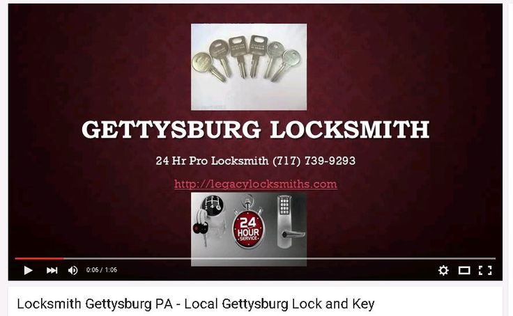 Check out this locksmith video