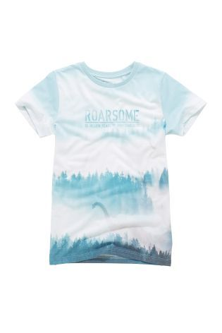 Buy Blue Roarsome T-Shirt (3-16yrs) from Next Australia