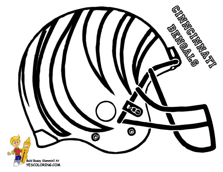 bills helmet coloring pages - photo#19