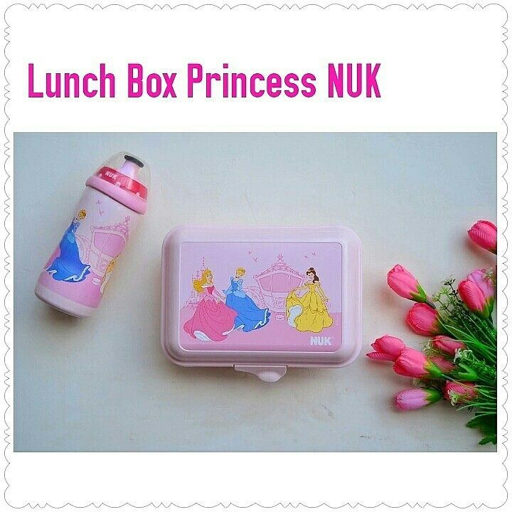 Lunch Box Princess NUK~ Rp. 269.900 ~ BPA free
