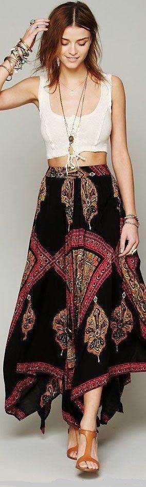 Gorgeous boho outfit