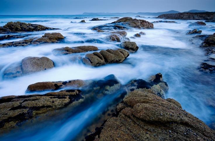 Issacs Point Sunset II, Freycinet National Park, East Coast, Tasmania.  Photo by Michael Gay