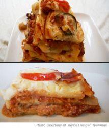 Vegetable Lasagna Recipe - Vegetarian Lasagna Recipe with zucchini and eggplant - Parenting.com