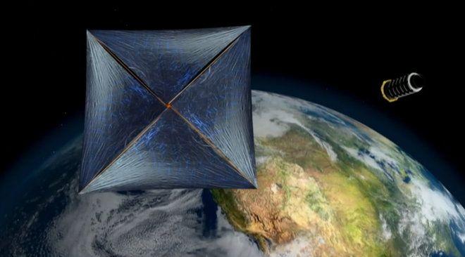 Vela Interstelar do Starshot da descoberta funciona melhor como uma bola