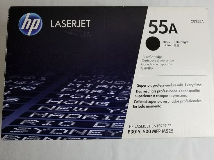Genuine HP Laserjet 55A Black Toner Print Cartridge CE255A P3015 500 MFP M525 | Computers/Tablets & Networking, Printers, Scanners & Supplies, Printer Ink, Toner & Paper | eBay!