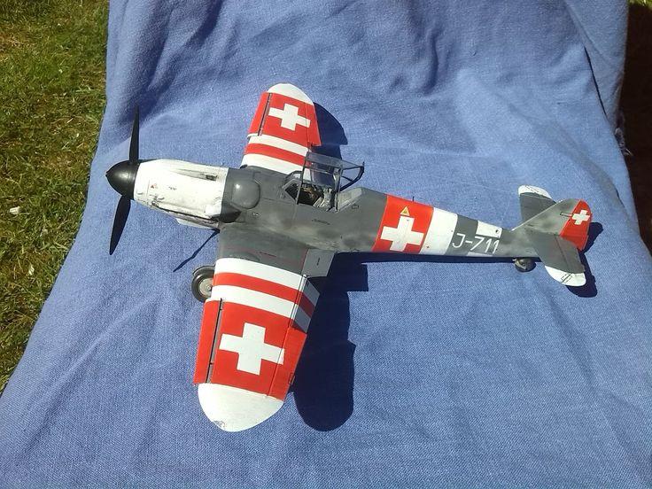 UkScaleModellers excellent Bf-109G6 in Issue 07 of Modelling Misfits.