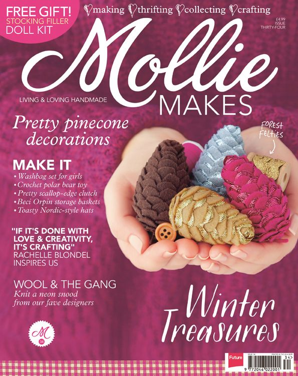 Download Mollie Makes issue 33 templates