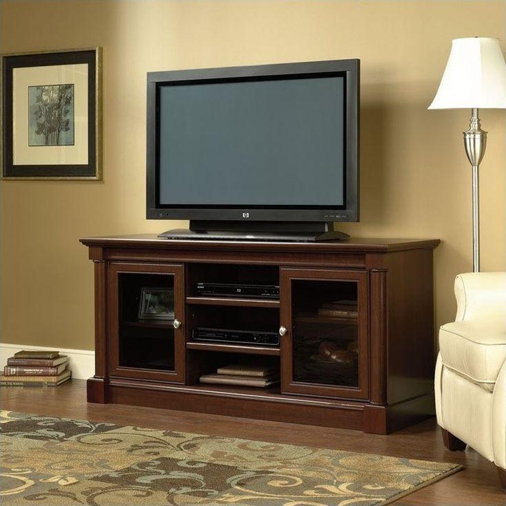 Sauder Palladia Full Size TV Stand in Cherry