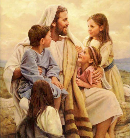 Free LDS Primary Talks (Jesus with the Children picture)