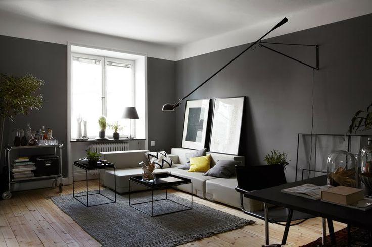 Masculine dark color interior  mannelijk stoer interieur met donkere kleuren   C-More |design + interieur + trends + prognose + concept + advies + ontwerp + cursus + workshopsvia