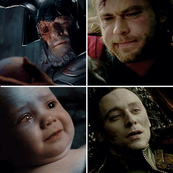 "Loki. The beginning and the ""end"". THIS HURTS. ALOT."