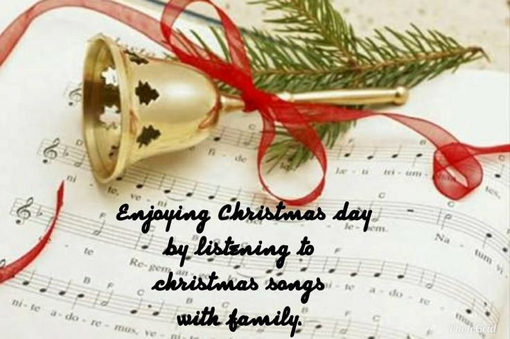 Enjoying Christmas day by listening to christmas songs with family. . . . . . . . #christmas #christmassongs  #family #song #christmasday #peace #music #carol