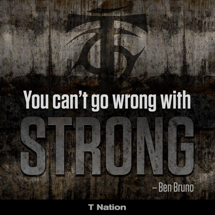 Najważniejsza jest motywacja! Czasem może sobie nie zdajemy sprawy z tego, że do treningu, regularności i osiągania jak najlepszych wyników niezbędna jest motywacja. Bez odpowiedniego nastawienia jest niezwykle trudno walczyć z samym sobą. Tutaj mamy przykład takiego hasła motywacyjnego, gdzie nie można robić niczego źle, gdy jest się silnym, zmotywowanym do działania. Tak więc do dzieła #sport #facet #workout #siłownia ##sprzęt ##sportowy