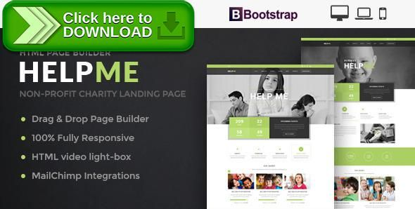 [ThemeForest]Free nulled download HelpMe - Nonprofit Landing Page Template With Page Builder from http://zippyfile.download/f.php?id=14931 Tags: Causes, charitable trust templates, charity template, Charity Templates, Charity Web Templates, charity website template, charity websites templates, church template, donation, donation website template, fundraising website template, ngo website template, non profit website template, non profit website templates, nonprofit website tem