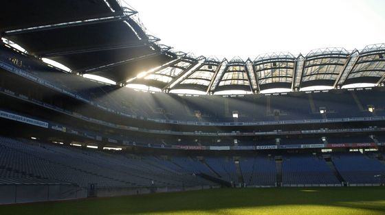 Nothing beats being there! We love and Support GAA!
