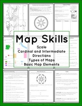 Worksheets Types Of Maps Worksheet 180 best images about social studies ideas on pinterest student this package contains a variety of handouts worksheets lesson idea and an activity to help teach students map skills such as
